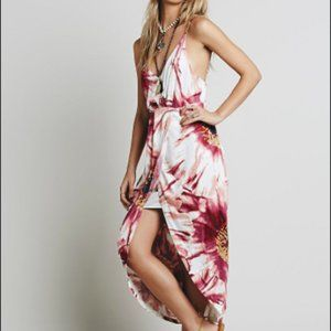 Free People Summer Lady Floral Printed Maxi Dress